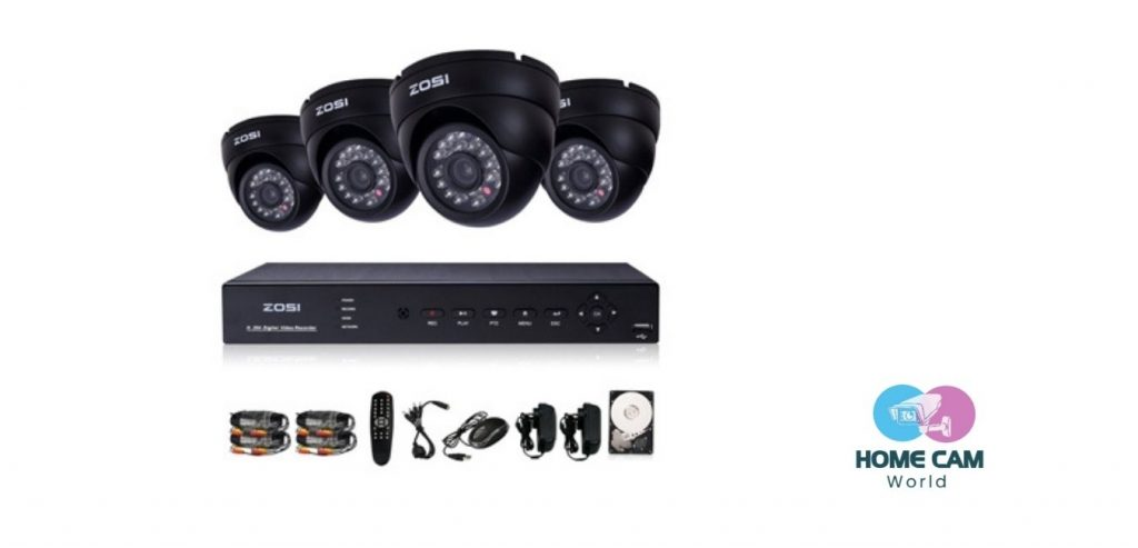 ZOSI home security system