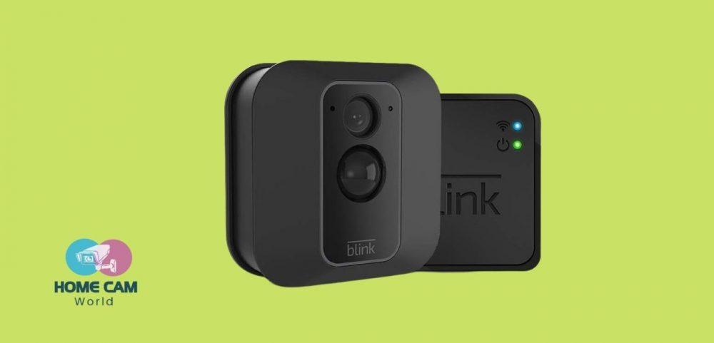 blink camera outdoor